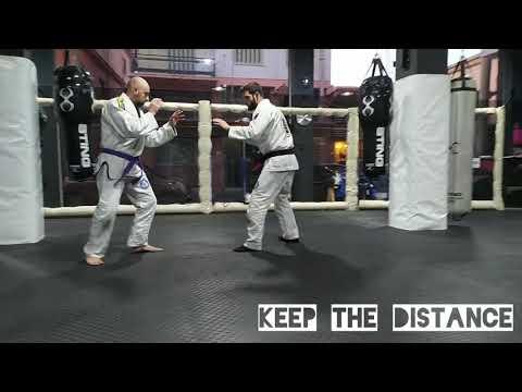 (UT) week 4 Brazilian jiu-jitsu fundamental techniques white to blue belt