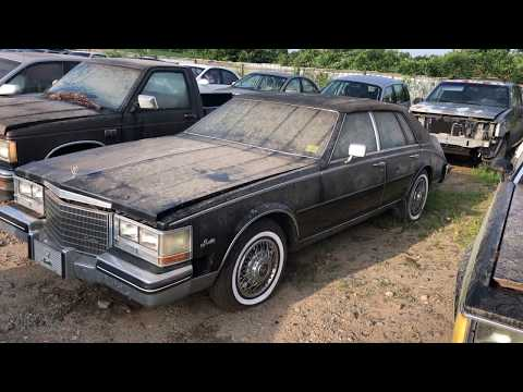 84 Cadillac Seville Scrapped