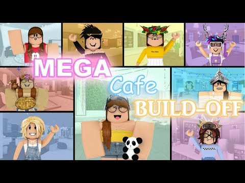 MEGA Cafe Build-Off!! Panda V.S. 8 FANS!