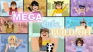 MEGA Cafe Build-Off!! Panda V.S. 8 FANS!