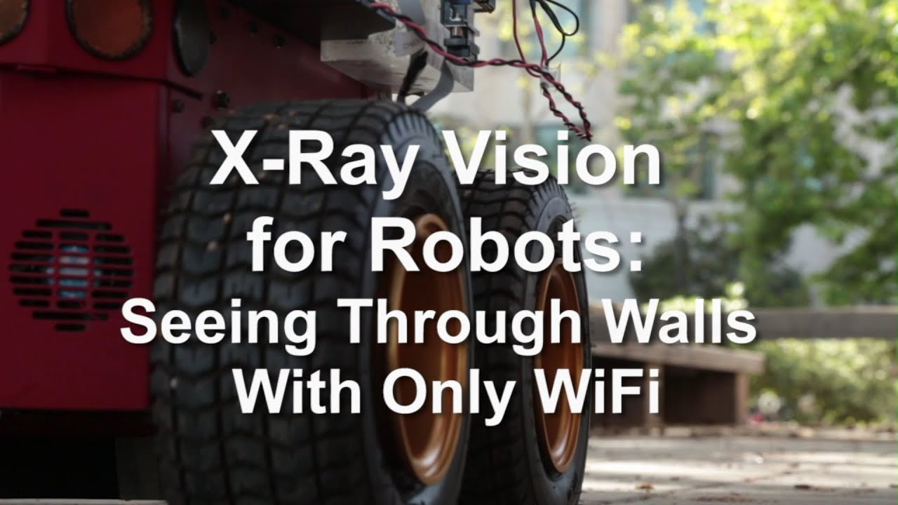 X Ray Vision For Robots Seeing Through Walls With Only