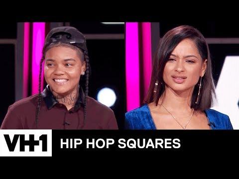 Young M.A. & Tori Brixx Make a Bet 'Sneak Peek' | Hip Hop Squares