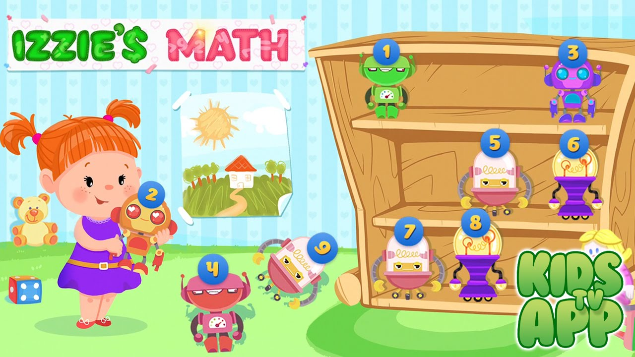 Izzie\'s Math: Fun Game for Kids 5-8 (Kids Games Club by TabTale ...