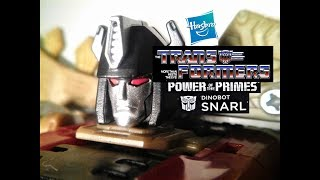 Fu-Reviews: Hasbro Transformers Generations Power of the Primes Dinobot Snarl Deluxe Class Figure