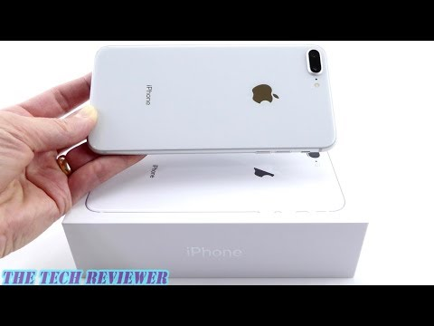 Unboxing the IPhone 8 Plus: Silver…or White?