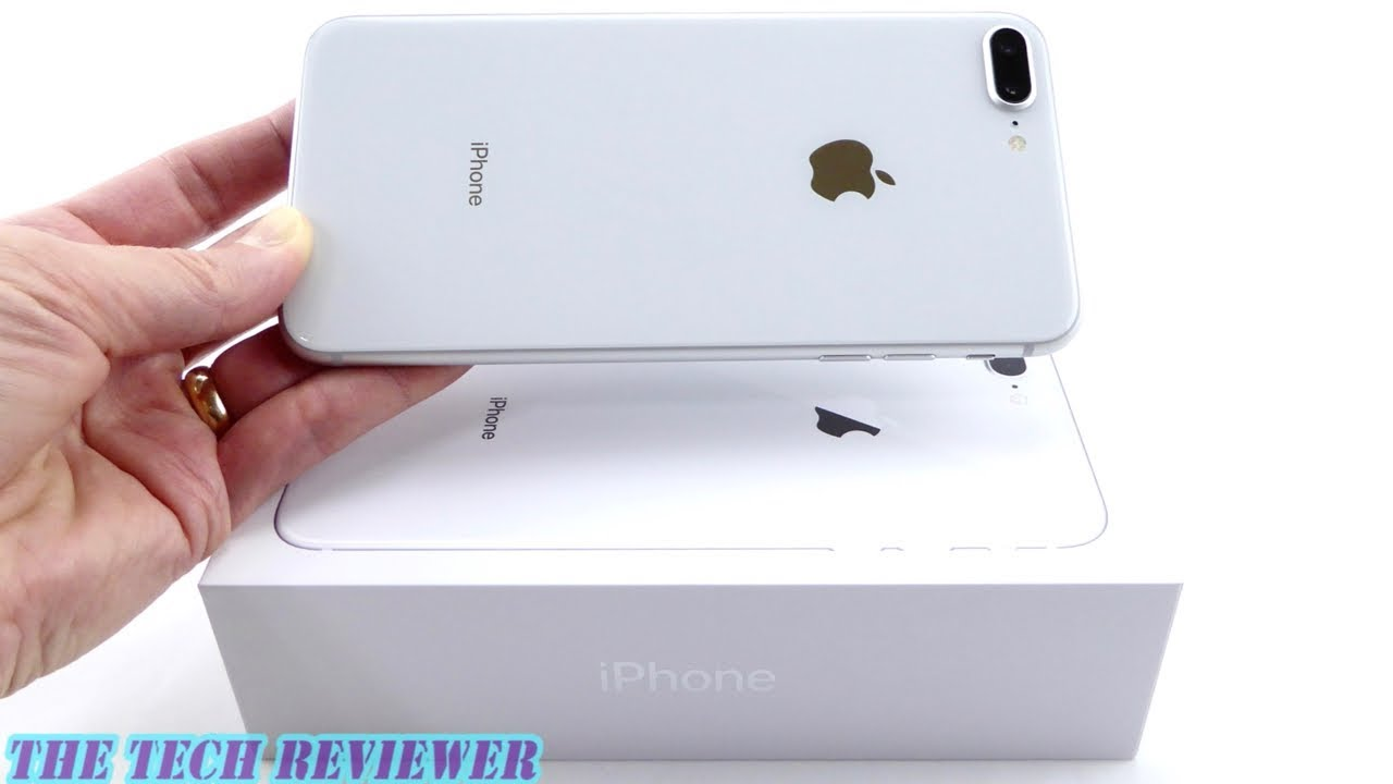 Unboxing The IPhone 8 Plus Silveror White