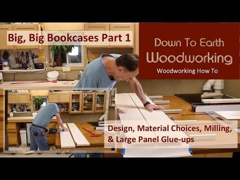 Maple Bookshelves Part 1