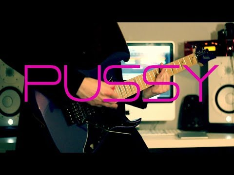 Rammstein - PUSSY Instrumental Guitar cover by Robert Uludag/Commander Fordo