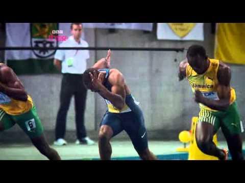 Michael Johnson Describes The 100 Meters