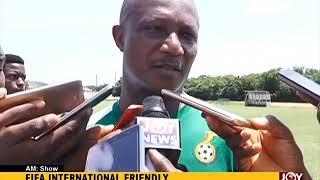 FIFA International Friendly - AM Sports on JoyNews (23-5-18)