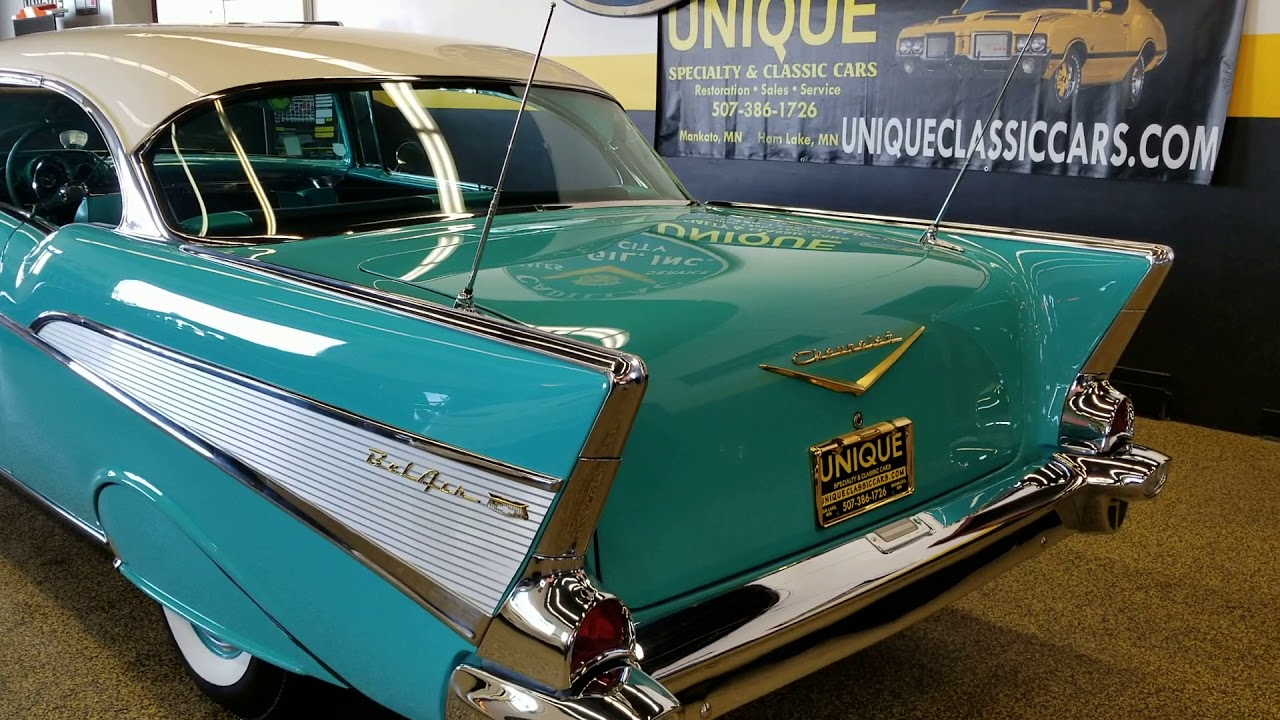 1957 Chevrolet Bel Air 2 Door Hardtop For Sale Youtube Chevy