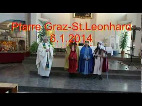 Sternsinger Lied Und Spruch Graz St Leonhard 2014
