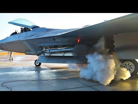 F-22 Raptor's Startup Sound is Amazing