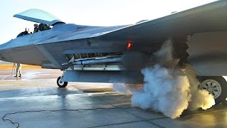 F-22 Raptor's Startup Sound is Amazing