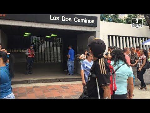 Tren del Metro de Caracas se descarriló dentro del túnel este #17Ago