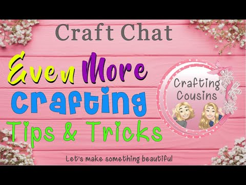 EVEN MORE TIPS & TRICKS FOR CRAFTING| General Craft Tips & Tricks | DIY Hints & Helps Paper Crafting
