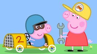 Peppa Pig English Episodes - Learn Transport with Peppa and Friends Part 2! Peppa Pig Official