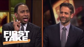 Stephen A. And Max Featured In New EA Sports NBA Live 18 | First Take | ESPN
