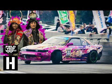 US Drift Team Animal Style Takes Super D Japan to Meihan Sportsland