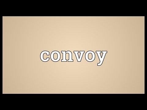 Convoy Meaning