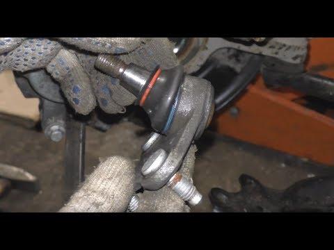 Замена шаровой опоры VW Polo Sedan - Skoda Rapid