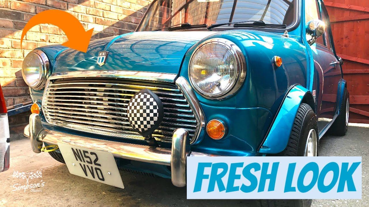 Rover Classic Mini Sidewalk - Violet Gets a Makeover - New Grill & More..