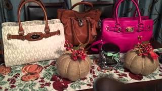Thrift haul Designer handbags & shoes