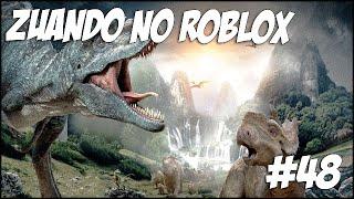 Mocking the Roblox-the SAD LIFE OF the DINOSAURS! -#48 (Ft. Cazum8, Godenot, Pandinha)