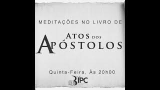 """Estudo Bíblico - 17/06/2021  """"Corações endurecidos"""" Atos 7: 1- 50"""