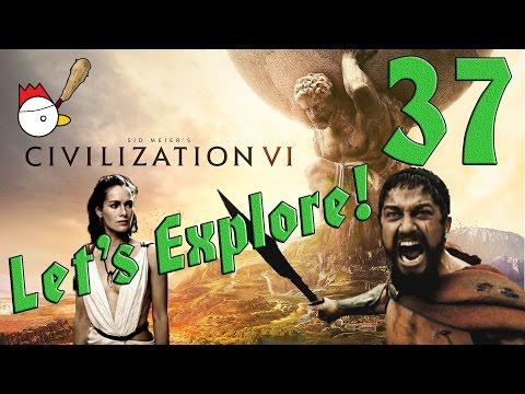 CIVILIZATION VI [ITA] Let's Explore 37# - QUESTA È SPARTAAAAA!