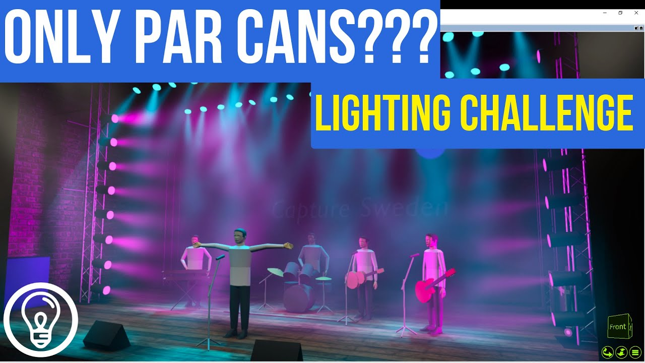 Lighting Rig With Just Pars
