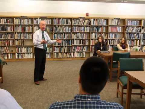 Congressman Rodney Frelinghuysen visits Cedar Grove schools