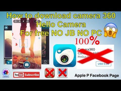 In install Camera360 hello Camera for free no jb no PC 100%