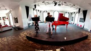 360 Video Nicola Benedetti And Emily Play Bach Double Violin Concerto | Make-A-Wish UK