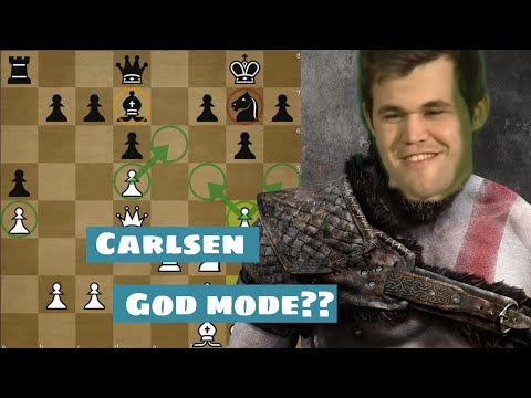 God mode activated? | Carlsen vs Aronian | Norway Chess 2018