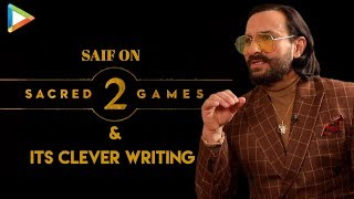 """Saif Ali Khan On Sacred Games 2: """"There Was A Time When I was a Little FRUSTRATED..."""""""