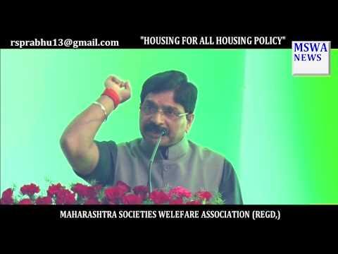 Housing For All, Ravindra Waikar, Minister of State for Housing,