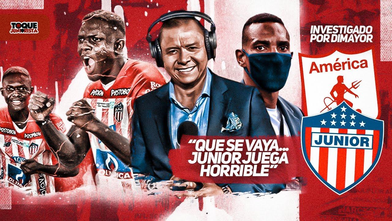IVÁN RENÉ VALENCIANO EXPLOTA contra AMARANTO PERA😱   DIMAYOR INVESTIGA el partido JUNIOR vs AMÉRICA👀