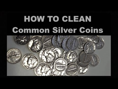 How to Clean Silver Coins { Common Versions Only } SD Bullion