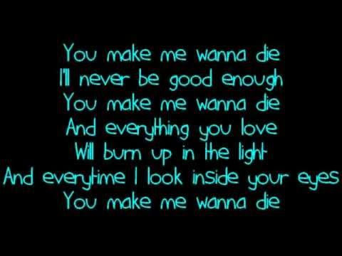 The Pretty Reckless - Make Me Wanna Die (Lyrics)