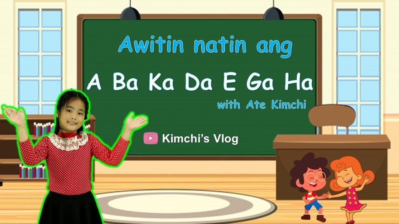 Download ABAKADA SONG   ALPABETONG PILIPINO   Filipino Alphabet   Tagalog Nursery