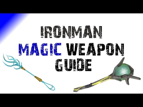 RS3 Ironman Magic Weapons Guide & Tips [Runescape 2016]