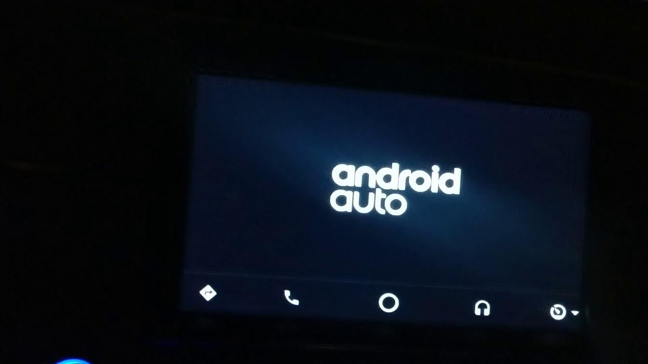 Android auto aa mirror - YouTube