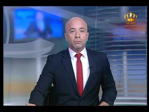 English News at Ten on Jordan Television 12-07-2017