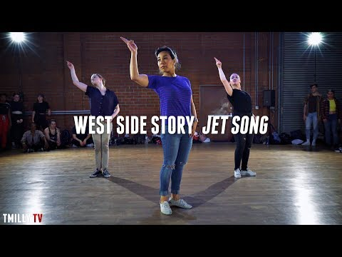 West Side Story - Jet Song - Dance Choreography by Galen Hooks ft Sean Lew Devin Jamieson TMillyTV