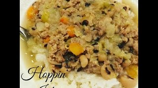 Hoppin' John Recipe {And Gettin' Schooled By My Homeschooler}