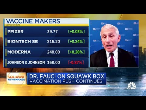 Fauci Says COVID-19 Booster Shots Are Needed For Those Who ...