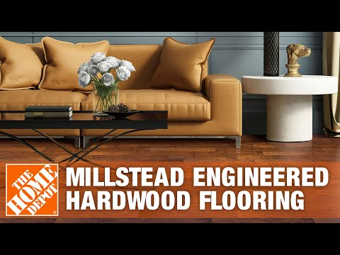 Millstead Engineered Hardwood Flooring | The Home Depot