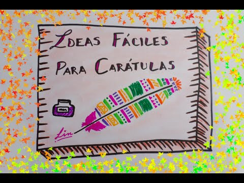 Ideas Para Tus Caratulas Caratulas Creativas Youtube