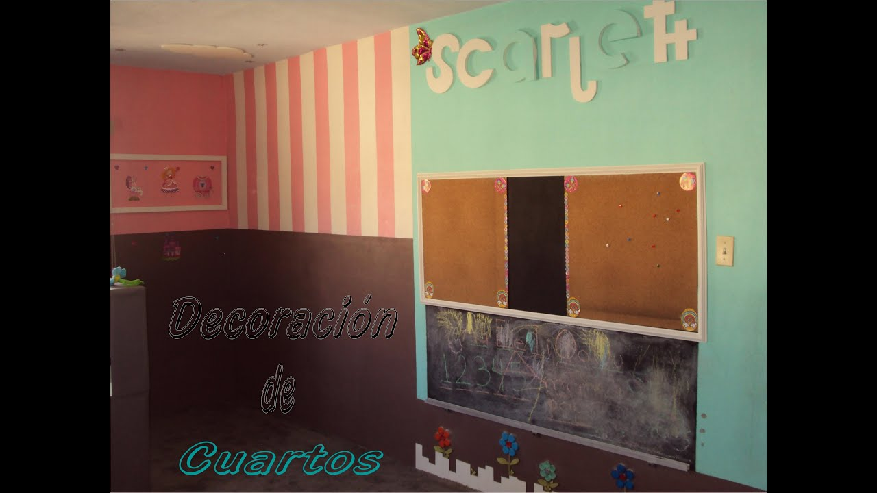Antes de decorar decoraci n cuarto para ni os carlu2013 for Decoracion en pared para ninos